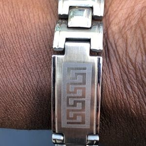 """NW Men's Stainless Steel Bracelet 8""""L/1/2""""W"""